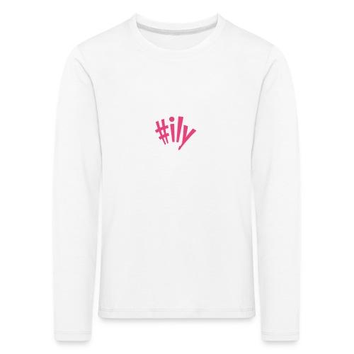 ily - Lasten premium pitkähihainen t-paita