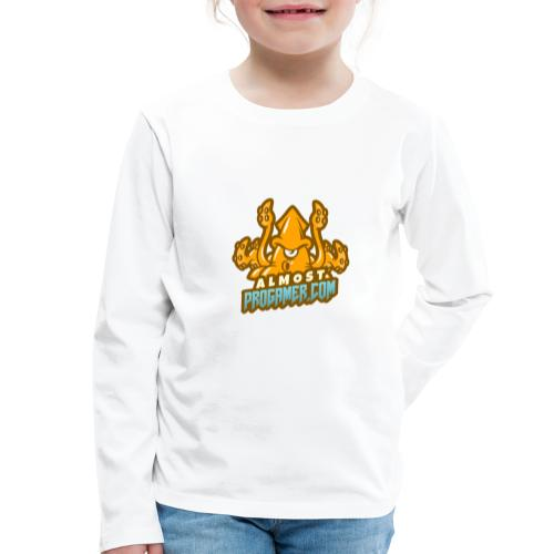 gaming logo maker featuring a squid monster 1847f - Maglietta Premium a manica lunga per bambini