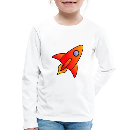 Red Rocket - Kids' Premium Longsleeve Shirt