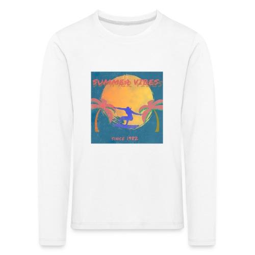Summer vibes - Camiseta de manga larga premium niño