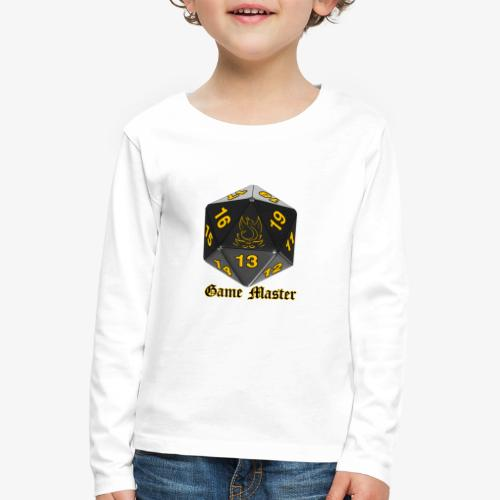 Game master yellow - Kids' Premium Longsleeve Shirt