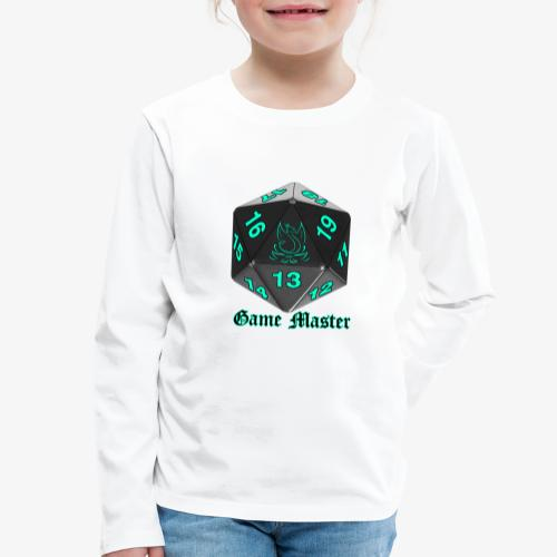 Game master blue - Kids' Premium Longsleeve Shirt