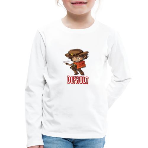 DeF Clan logo - Premium langermet T-skjorte for barn