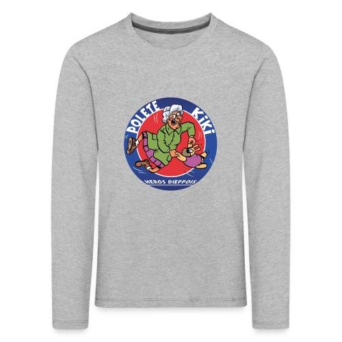 tshirt polete heros dieppois - T-shirt manches longues Premium Enfant
