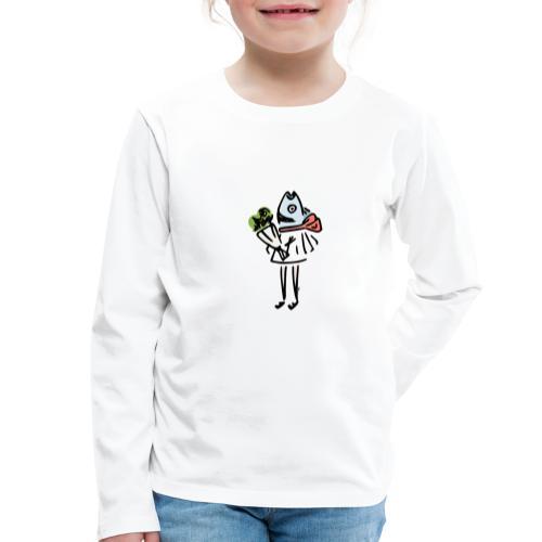 Sirène Galante - T-shirt manches longues Premium Enfant