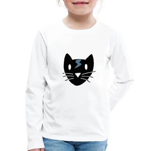 Chat Bowie - T-shirt manches longues Premium Enfant