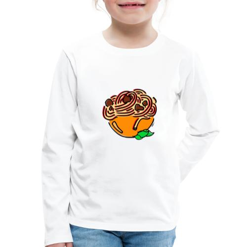 Bol de Spaghetti - T-shirt manches longues Premium Enfant