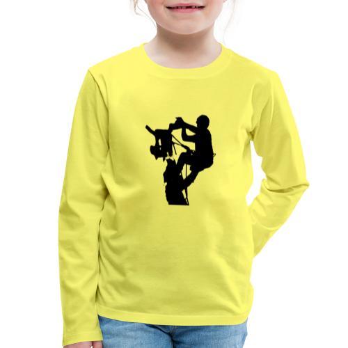 Arborist Baumpfleger - Kinder Premium Langarmshirt