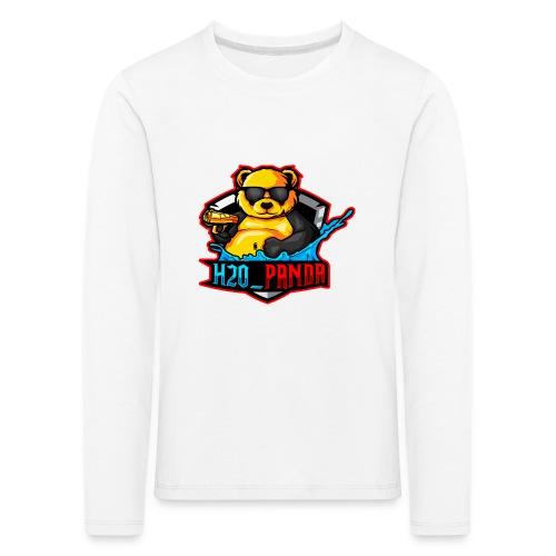 Pandas Loga - Långärmad premium-T-shirt barn