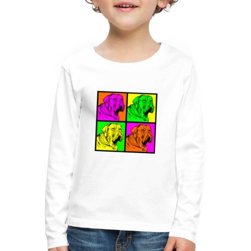 Bouledogue Anglais Couleur - T-shirt manches longues Premium Enfant
