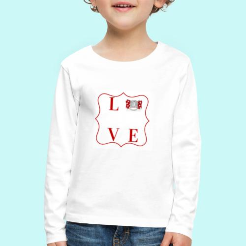 love - Kids' Premium Longsleeve Shirt
