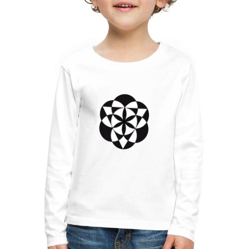 diseño de figuras geométricas - Camiseta de manga larga premium niño