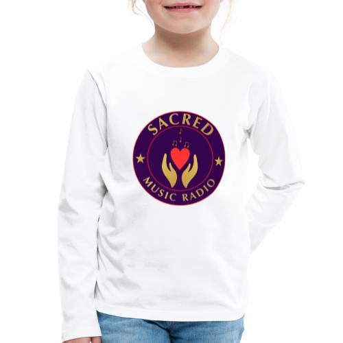 Spread Peace Through Music - Kids' Premium Longsleeve Shirt