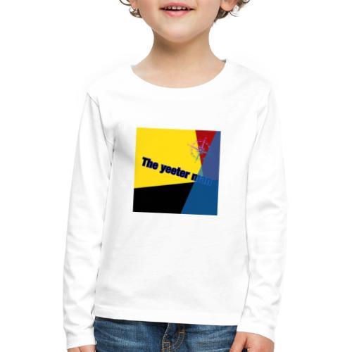 yeet - Långärmad premium-T-shirt barn