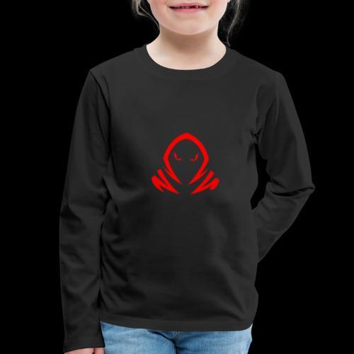 New Official TagX Logo - Lasten premium pitkähihainen t-paita