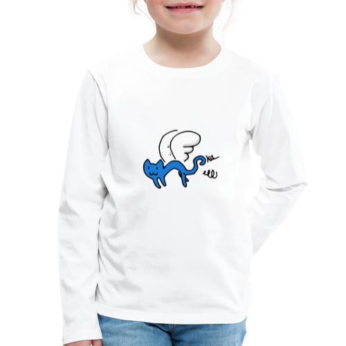 Chaton Volant - T-shirt manches longues Premium Enfant