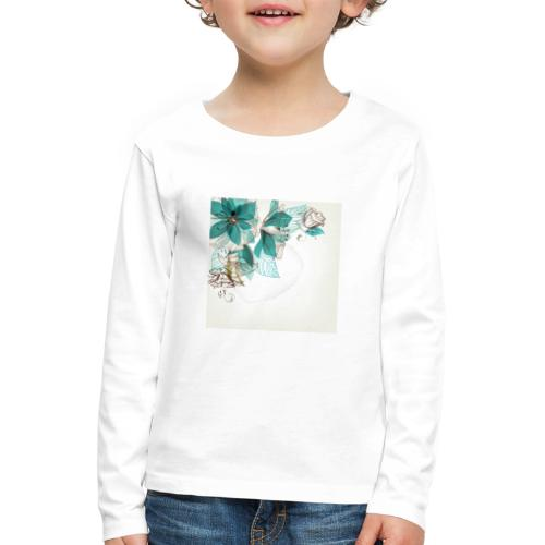 Tropical Flora - Kids' Premium Longsleeve Shirt