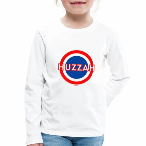 Huzzah - Kinderen Premium shirt met lange mouwen