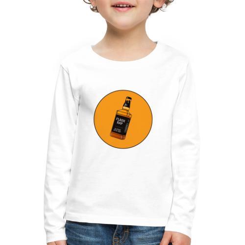 Logo Flash Rap - T-shirt manches longues Premium Enfant