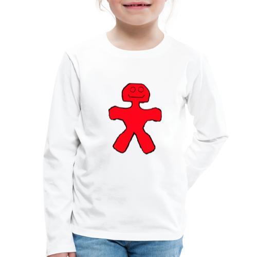 Blackie - Børne premium T-shirt med lange ærmer