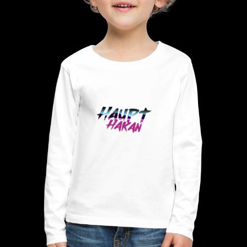 HauptHakan - Kinder Premium Langarmshirt