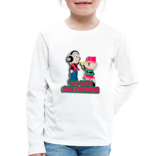 La voz silenciosa - Jose y Arpelio - Camiseta de manga larga premium niño