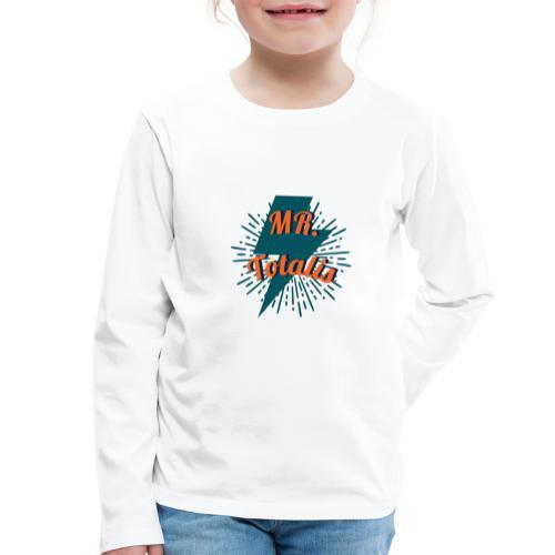 Esempio Logo o Stampa! - Maglietta Premium a manica lunga per bambini