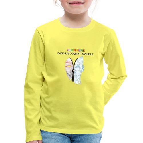 Guerrière dans un combat invisible 02 - T-shirt manches longues Premium Enfant