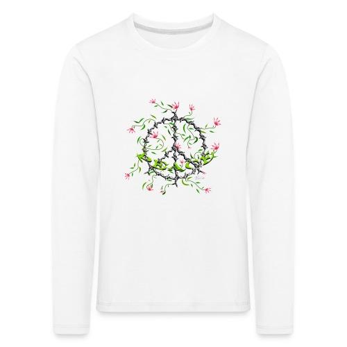 Peace - Kinder Premium Langarmshirt