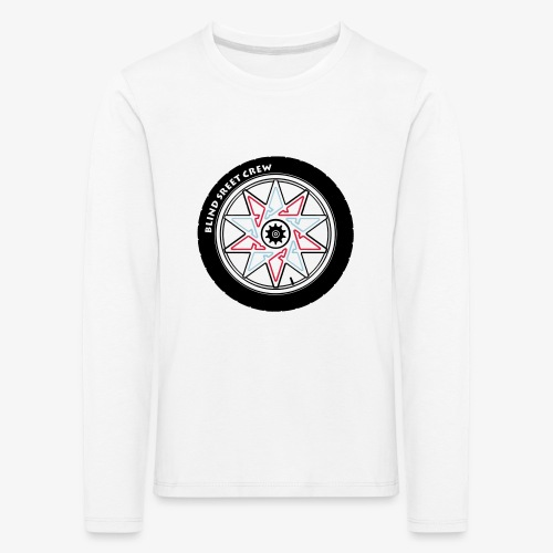 BSC Team - Maglietta Premium a manica lunga per bambini