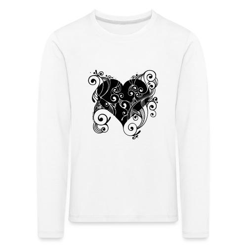 Isle of Heart Petal - Kids' Premium Longsleeve Shirt