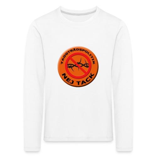 Taggtrådspolitik Ny - Långärmad premium-T-shirt barn