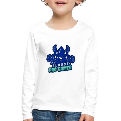 Almost pro gamer BLUE - Maglietta Premium a manica lunga per bambini