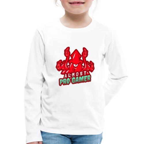 Almost pro gamer RED - Maglietta Premium a manica lunga per bambini