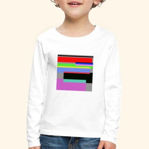 Artistico27 - Maglietta Premium a manica lunga per bambini