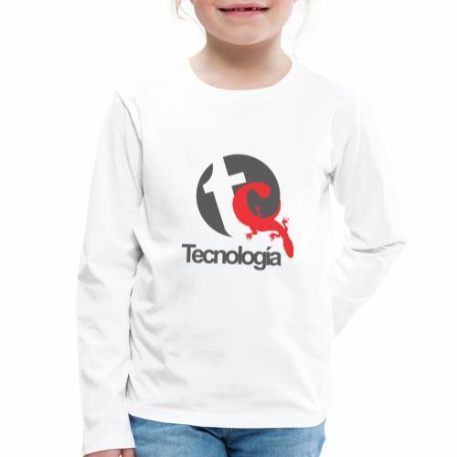Tecnologia - Kinder Premium Langarmshirt