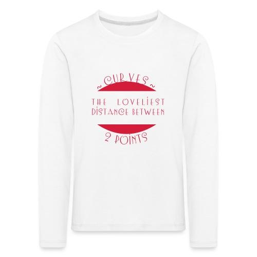 Curves - Lasten premium pitkähihainen t-paita