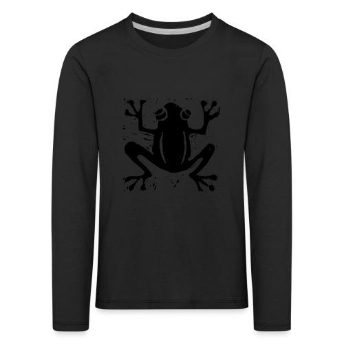 Crafty Wotnots Tree Frog - Kids' Premium Longsleeve Shirt
