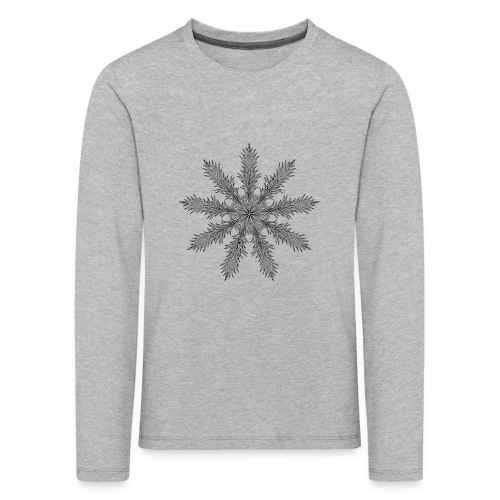 Magic Star Tribal #4 - Kids' Premium Longsleeve Shirt