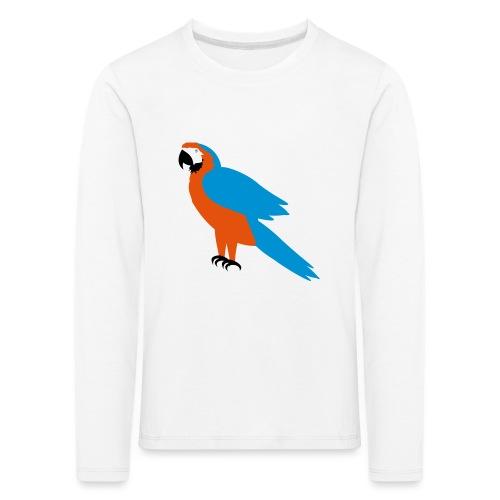 Parrot - Maglietta Premium a manica lunga per bambini