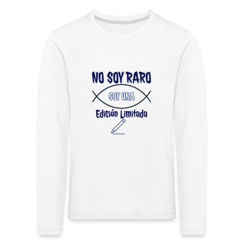 Edicion limitada - Camiseta de manga larga premium niño