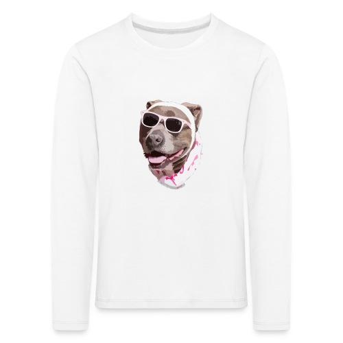 Perrote - Camiseta de manga larga premium niño