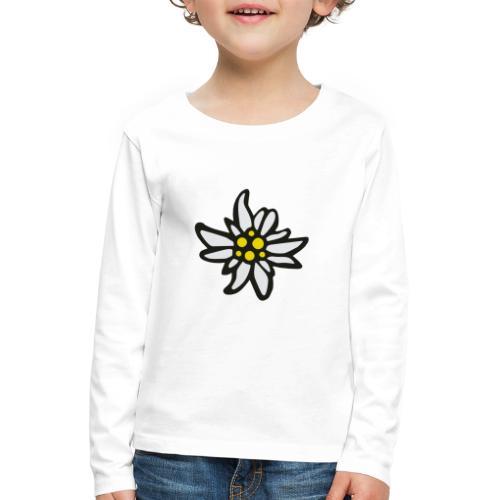 Edelweiss - Kinder Premium Langarmshirt