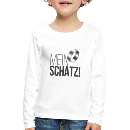 Mein Schatz! - Kinder Premium Langarmshirt