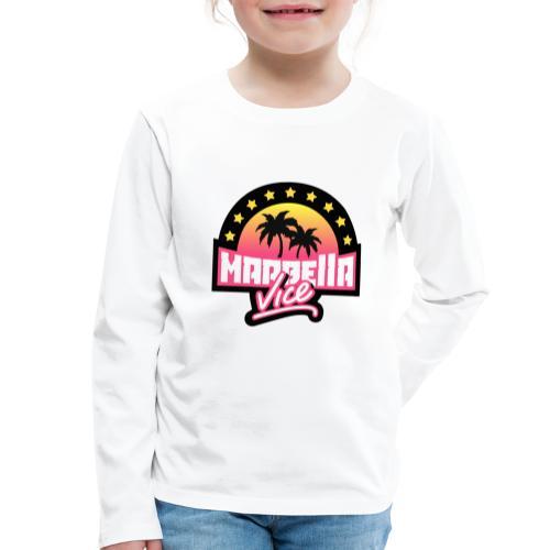 00421 Marbella vice - Camiseta de manga larga premium niño