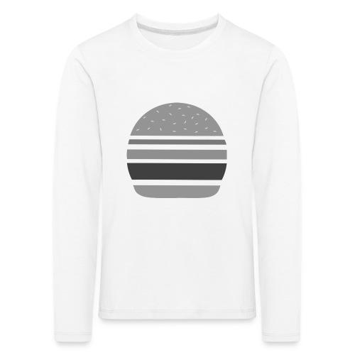 Logo_panhamburger_gris - T-shirt manches longues Premium Enfant