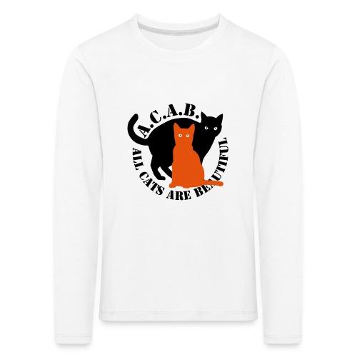gaticos - Camiseta de manga larga premium niño