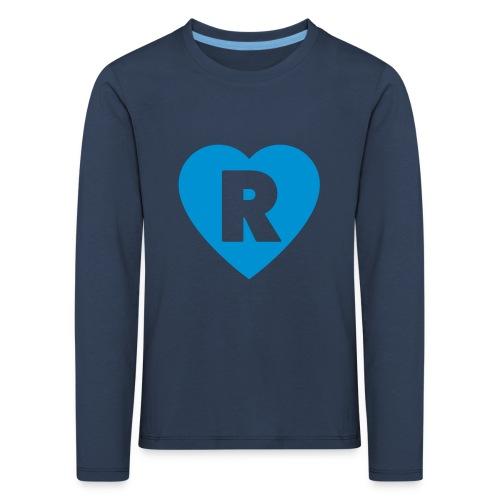 cuoRe - Maglietta Premium a manica lunga per bambini
