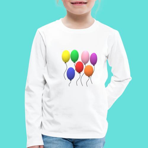 ballons - T-shirt manches longues Premium Enfant
