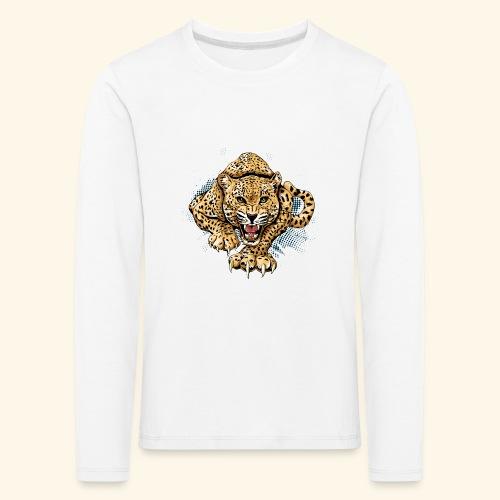 Leopardo KutuXa - Camiseta de manga larga premium niño